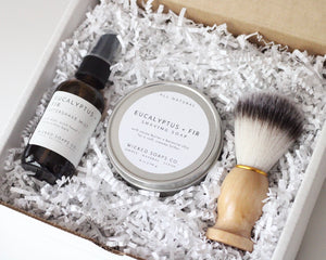 Eucalyptus + Fir Shave Care Gift Set