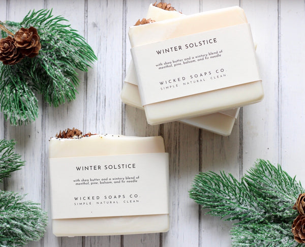 Winter Solstice Artisan Soap