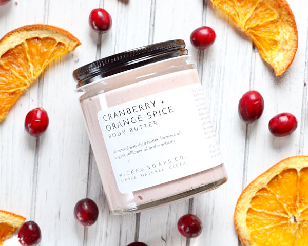 Cranberry + Orange Spice Body Butter