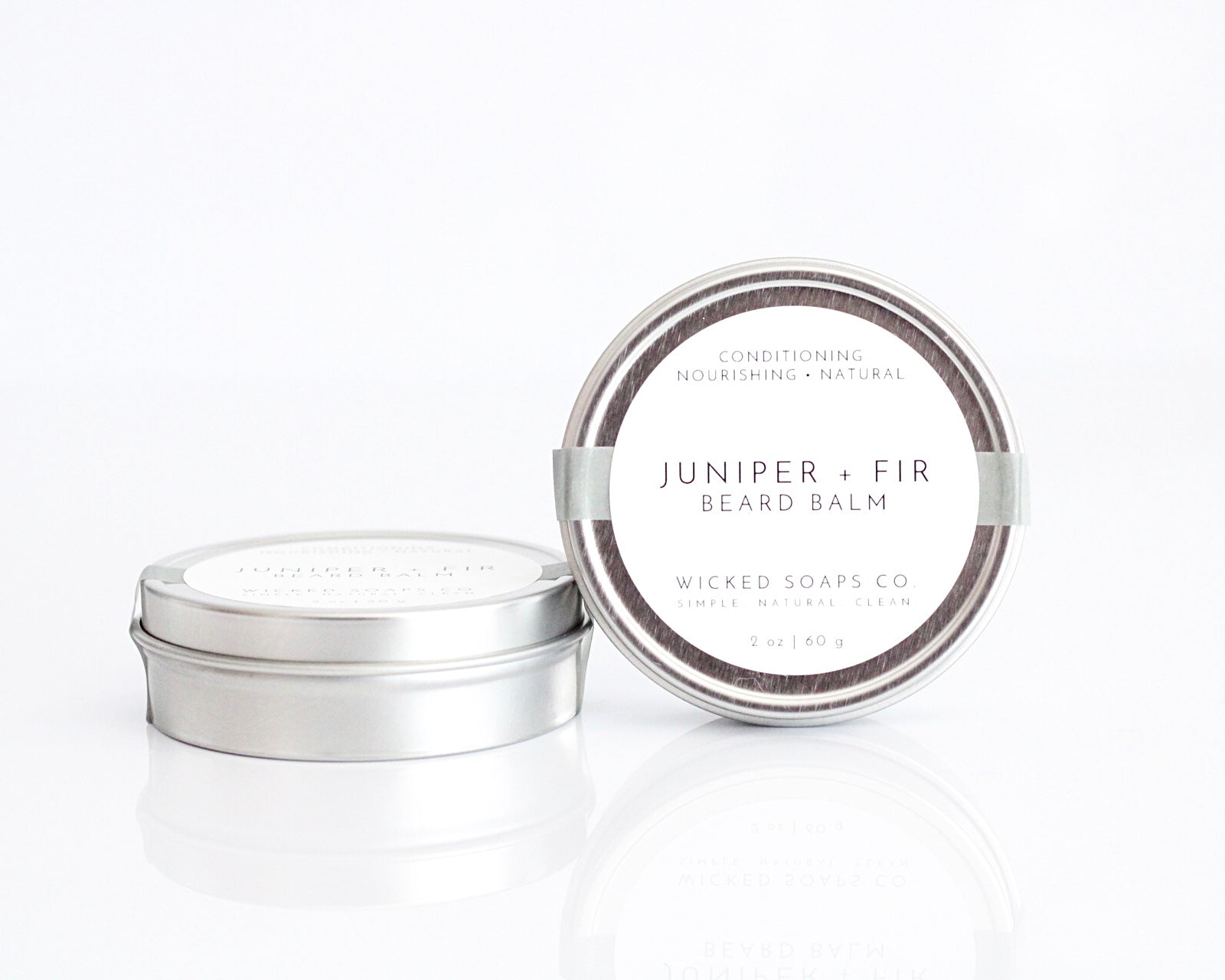 Juniper + Fir Beard Balm