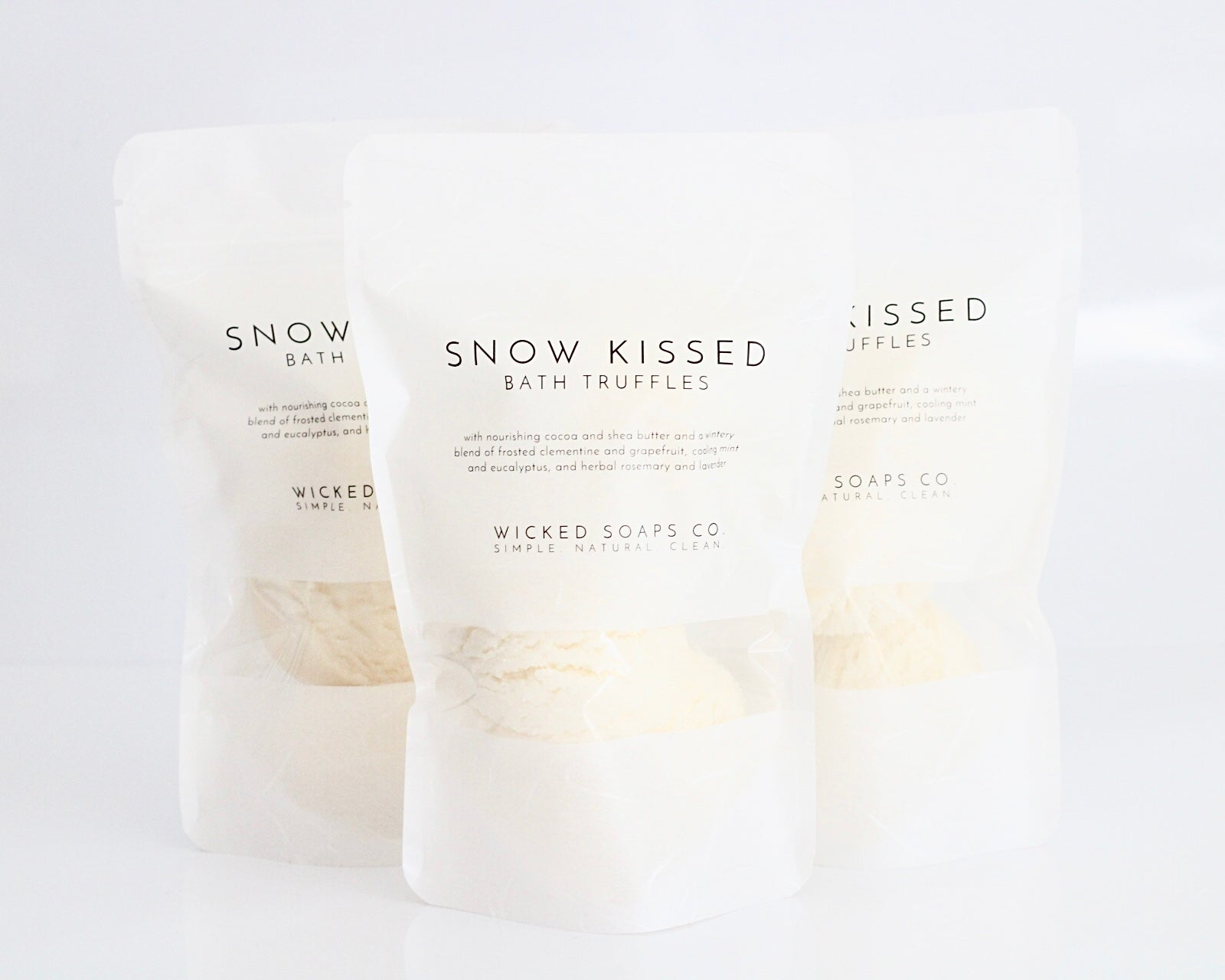 Snow Kissed Bath Truffles