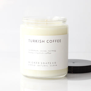 Turkish Coffee Soy Candle