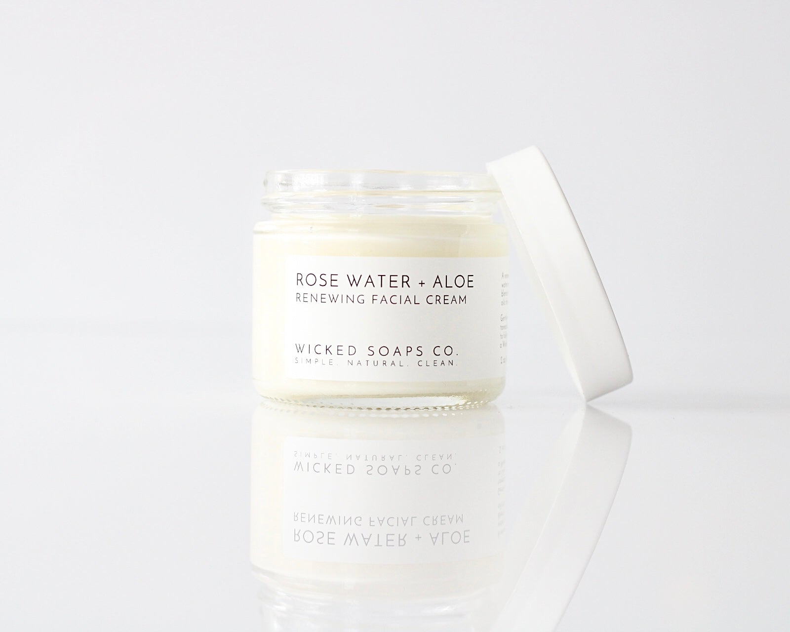 Rose Water + Aloe Facial Cream