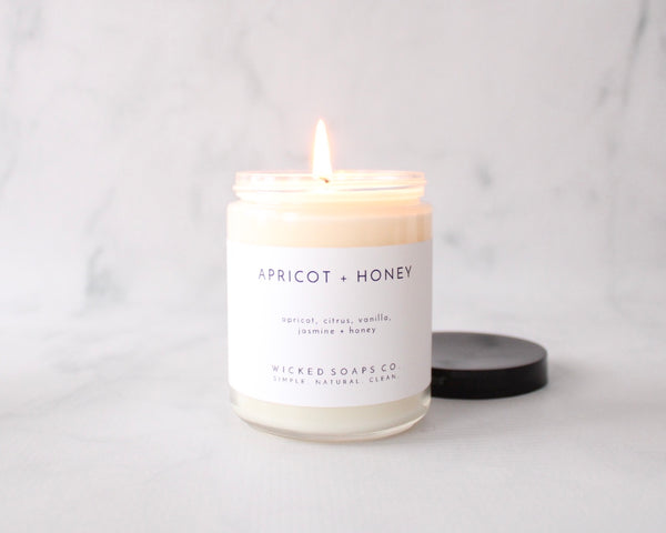 Apricot + Honey Soy Candle