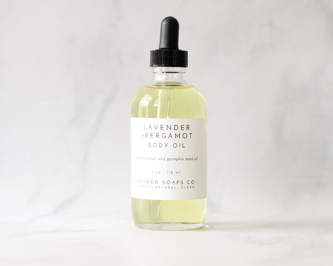 Lavender + Bergamot Body Oil