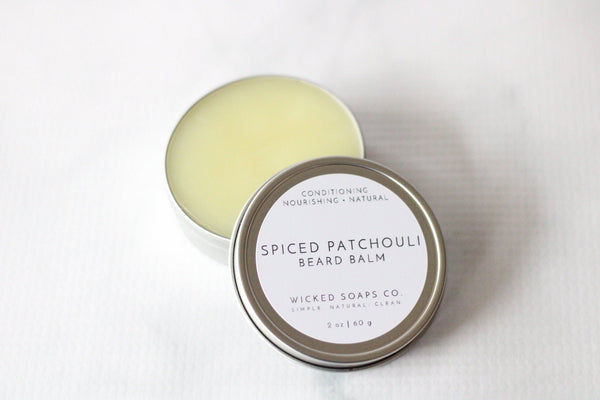 Spiced Patchouli Beard Balm