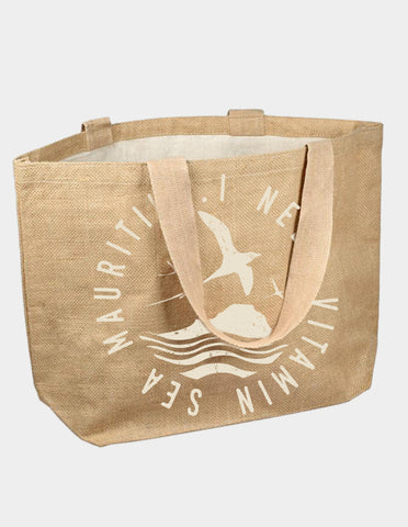JUTE BAG I NEED VITAMIN SEA
