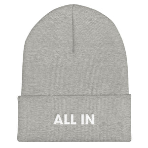 All In Cuffed Beanie