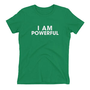 I Am Powerful Boyfriend Fit T-Shirt