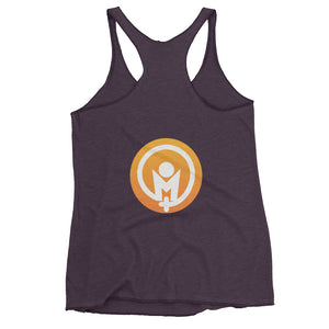 Who Do I Need To Become?  Racerback Tank