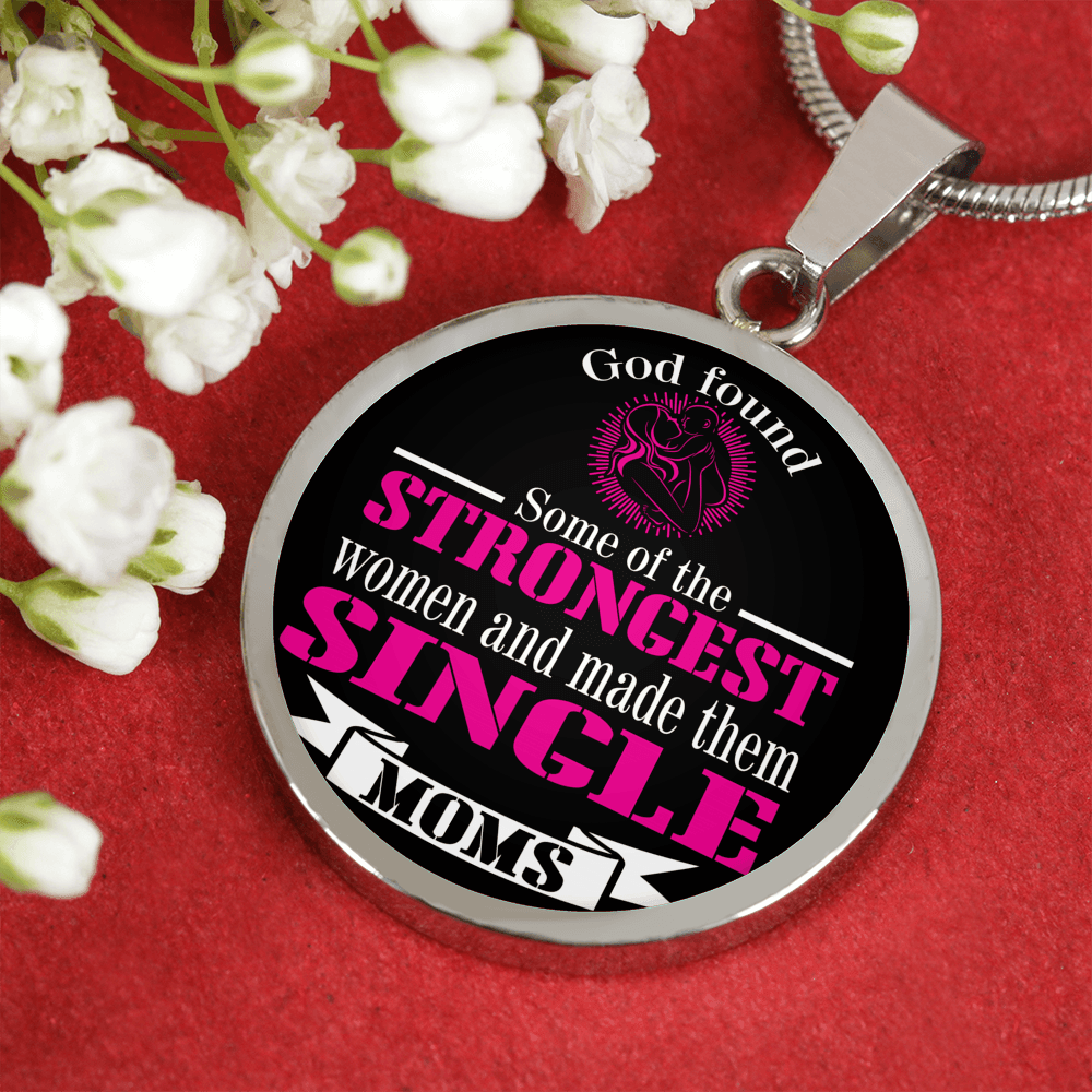 For Strong Single Moms Luxury Gold & Silver Necklace and Bangle - GETSTRONG