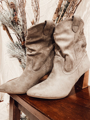 Boot Scootin' Boogie in Grey