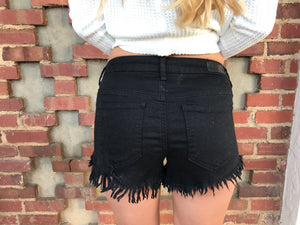 Somethin Bout These Shorts in Black