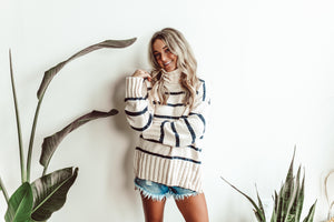 Vanilla Birch Knit Sweater