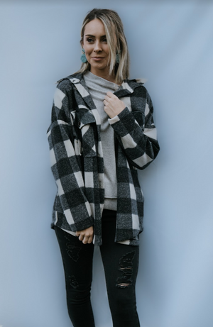 Better Together Checkered Knit