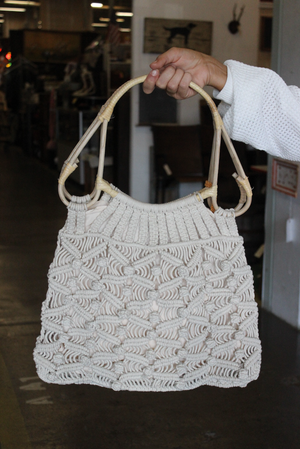 Tame and Textured Crochet Bag