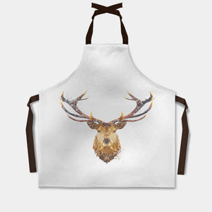 """The Stag"" Apron - Andy Thomas Artworks"