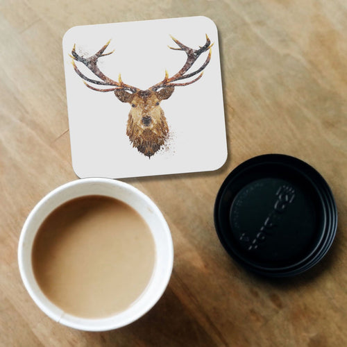 """The Stag"" Coaster"