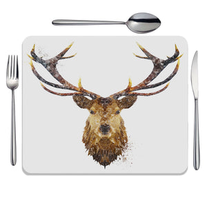 """The Stag"" Placemat - Andy Thomas Artworks"