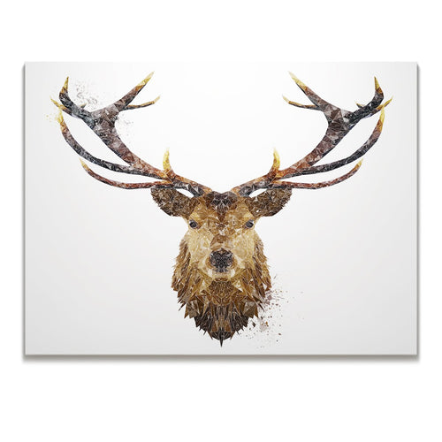 """The Stag"" Skinny Canvas Print"