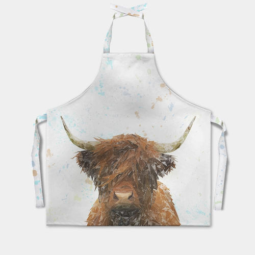 """The Highland"" Highland Cow Apron"