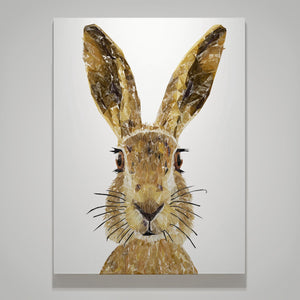 """The Hare"" Medium Canvas Print - Andy Thomas Artworks"