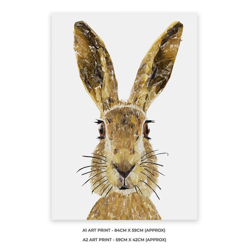"""The Hare"" A2 Unframed Art Print"