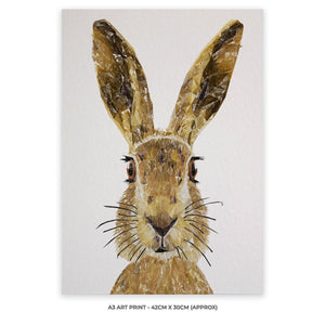 """The Hare"" A3 Unframed Art Print - Andy Thomas Artworks"