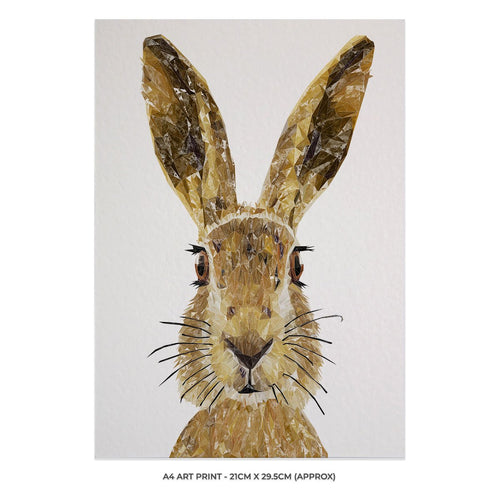 """The Hare"" A4 Unframed Art Print"