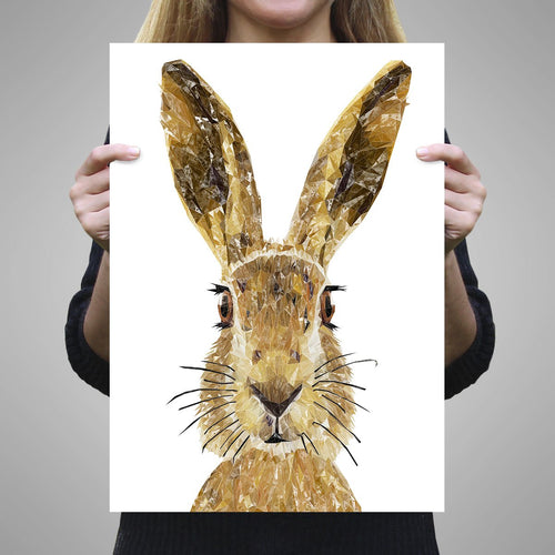 """The Hare"" Unframed Art Print"
