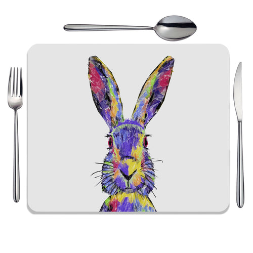 """The Colourful Hare"" Placemat"