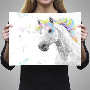 """The Unicorn"" A3 Unframed Art Print - Andy Thomas Artworks"