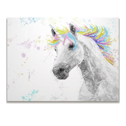 """The Unicorn"" Skinny Canvas Print"