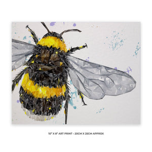 """The Bee"" 10"" x 8"" Unframed Art Print - Andy Thomas Artworks"