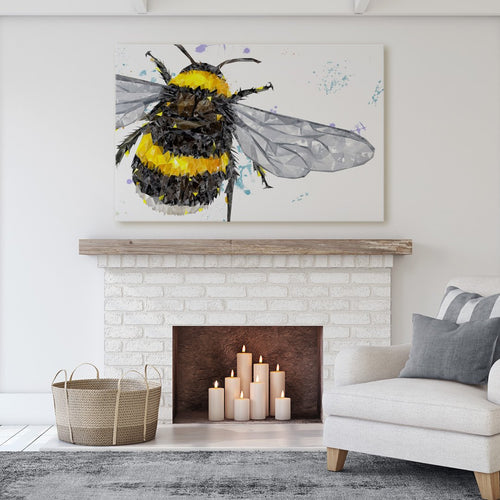 """The Bee"" Massive Canvas Print"