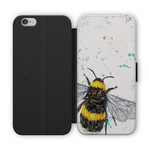 """The Bee"" Flip Phone Case - Andy Thomas Artworks"