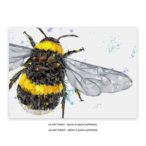"""The Bee"" A1 Unframed Art Print - Andy Thomas Artworks"