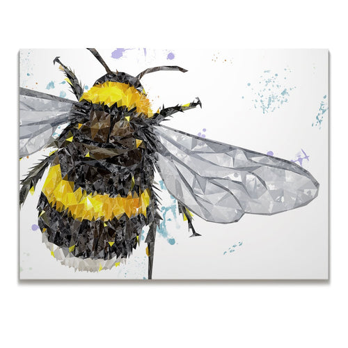 """The Bee"" Skinny Canvas Print"