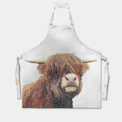 """Henry"" The Highland Bull Apron"