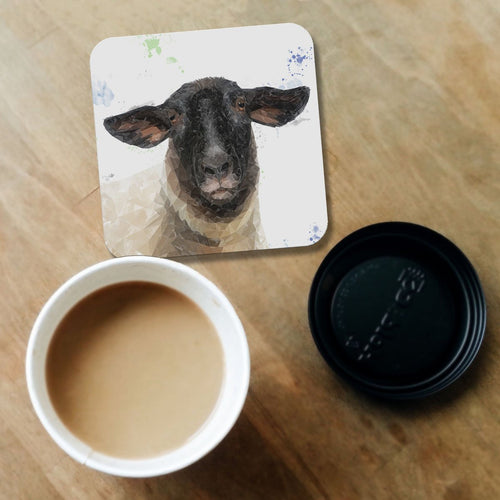 """The Suffolk"" Suffolk Sheep Coaster"