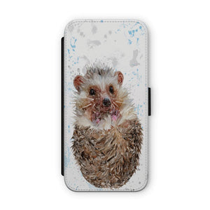 """Milton"" The Hedgehog Flip Phone Case - Andy Thomas Artworks"