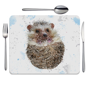 """Milton"" The Hedgehog Placemat - Andy Thomas Artworks"