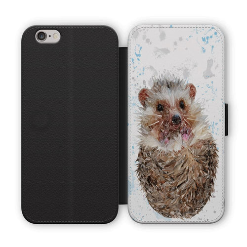"""Milton"" The Hedgehog Flip Phone Case"