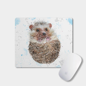 """Milton"" The Hedgehog Mousemat - Andy Thomas Artworks"