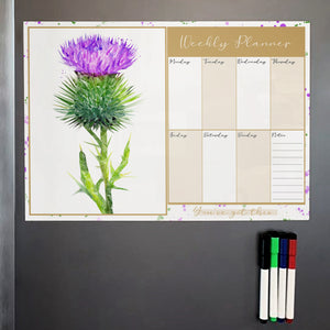 The Thistle A3 Magnetic weekly planner