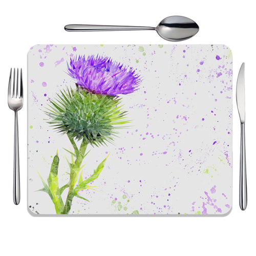The Thistle (Portrait) Placemat