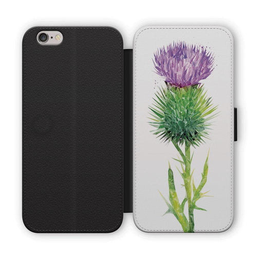 The Thistle (Portrait) Flip Phone Case