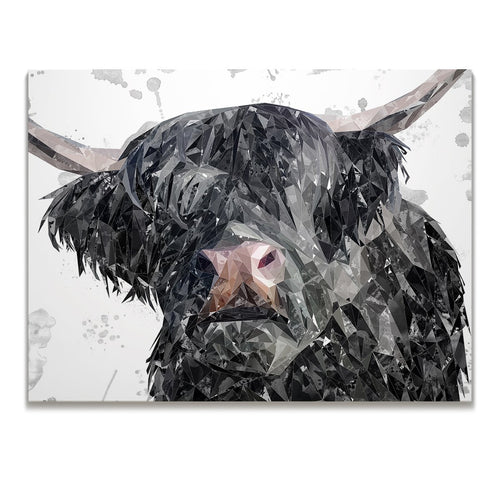 """Bruce"" The Highland Bull Skinny Canvas Print"