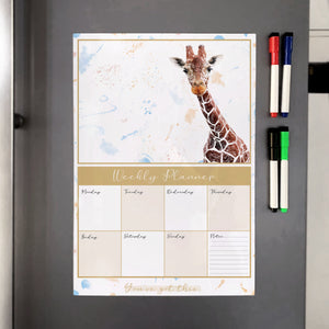 George A3 Magnetic weekly planner