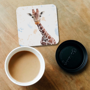 """George"" The Giraffe Coaster - Andy Thomas Artworks"